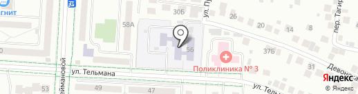 Детский сад №27, Нэни куллар на карте Альметьевска