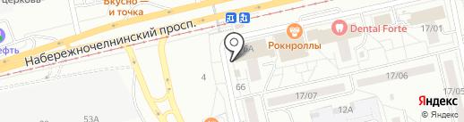 Вита Экспресс на карте Набережных Челнов