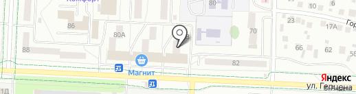 Valentina на карте Альметьевска