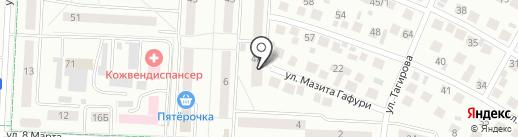 КамАй на карте Альметьевска
