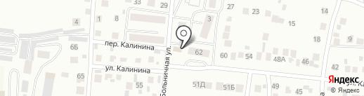 Елизавета на карте Альметьевска
