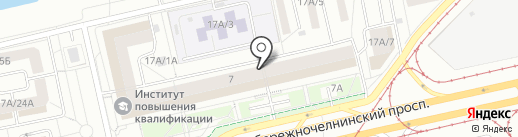 All in fashion на карте Набережных Челнов