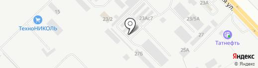АРК-Мебель на карте Набережных Челнов