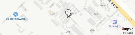 Магазин шин и дисков на карте Набережных Челнов