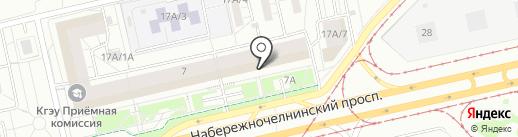 Столото на карте Набережных Челнов