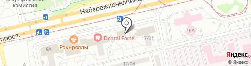Ника-транс на карте Набережных Челнов