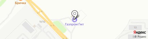 Газпром на карте Набережных Челнов