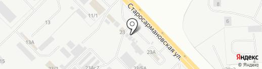 Кафе-бистро на карте Набережных Челнов