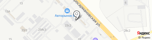 Автоком на карте Набережных Челнов