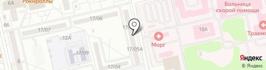 Республиканское бюро судебно-медицинской экспертизы на карте Набережных Челнов