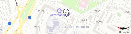 Самарский дворик на карте Набережных Челнов