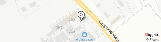 Торговый дом КамаИнжиниринг на карте Набережных Челнов