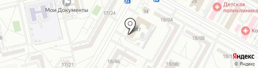 БЕЗОПАСНОСТЬ ЛИФТОВ НЧ на карте Набережных Челнов