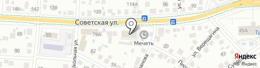 ТЕПЛОТЕХНИКА на карте Альметьевска
