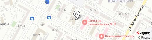 Багира на карте Набережных Челнов