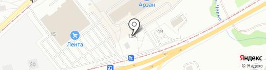 Domostroy116 на карте Набережных Челнов