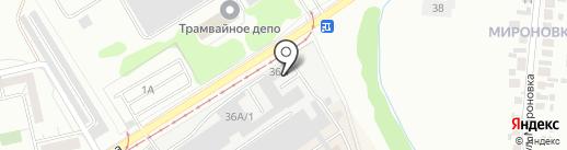 Деловой Интернет на карте Набережных Челнов