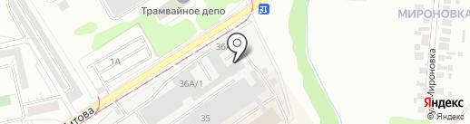 РАДОСТЬ на карте Набережных Челнов