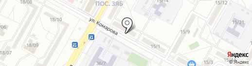 Магазин хозтоваров и часов на карте Набережных Челнов