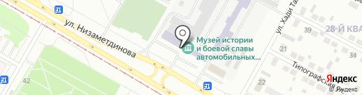 БАСТИОН, ЧОУ на карте Набережных Челнов