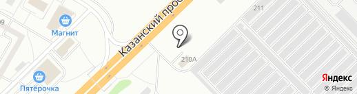 Grill HouZZ на карте Набережных Челнов