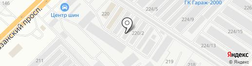 Армада на карте Набережных Челнов