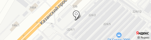 КАМОПТТОРГ на карте Набережных Челнов