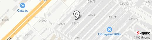 Пальмира на карте Набережных Челнов