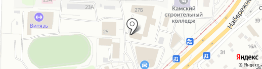 Веста на карте Набережных Челнов