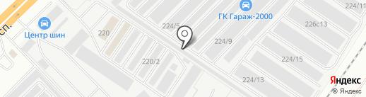 КамаТрансСнаб на карте Набережных Челнов