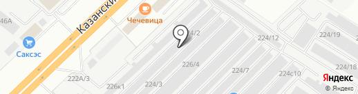 КАМАГРЕГАТ-СЕРВИС на карте Набережных Челнов