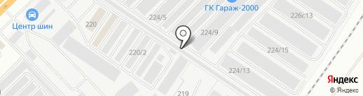 ЗАПАВТОМАЗ на карте Набережных Челнов
