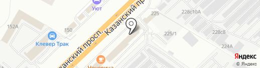 КАМАДИЗЕЛЬСЕРВИС на карте Набережных Челнов