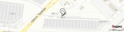 СТО 33 на карте Набережных Челнов