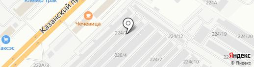 СиБиС на карте Набережных Челнов