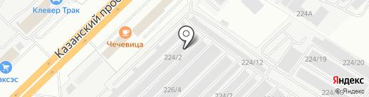 ТРАКДЕТАЛЬ на карте Набережных Челнов