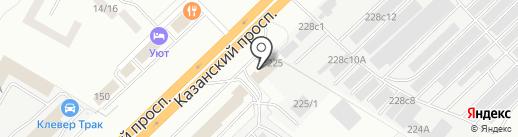 АвтоВек-Поволжье на карте Набережных Челнов