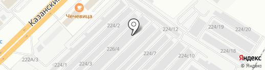 РИФ на карте Набережных Челнов