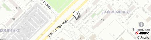 Расчетно-регистрационный центр на карте Набережных Челнов