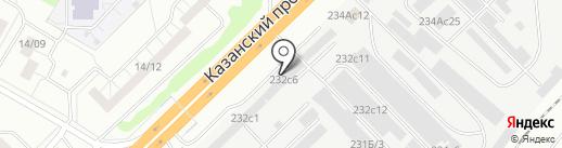 Энерго-М на карте Набережных Челнов