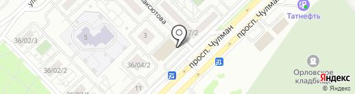 Банкомат, Татфондбанк, ПАО на карте Набережных Челнов