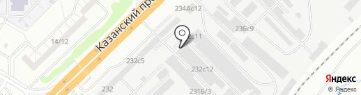 Запчасть-НЧ на карте Набережных Челнов