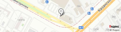 ИНТЕРСКОЛ на карте Набережных Челнов