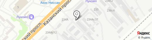 Строй-Ресурс на карте Набережных Челнов