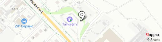 Татнефть-АЗС Центр на карте Альметьевска