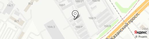 РемТех на карте Набережных Челнов