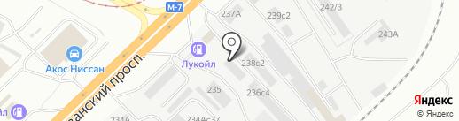 ЛЕКАМ на карте Набережных Челнов