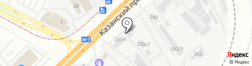 Seaman Поволжье на карте Набережных Челнов
