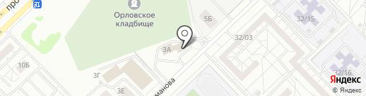Советник на карте Набережных Челнов