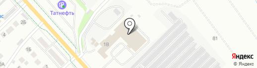 M-авто на карте Альметьевска